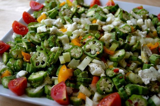 recipe: raw okra salad [3]